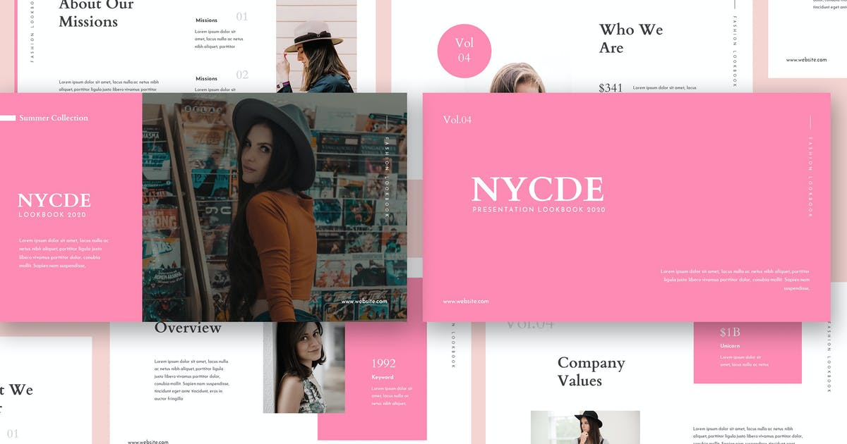 Download Nycde Fashion Lookbook Keynote by giantdesign