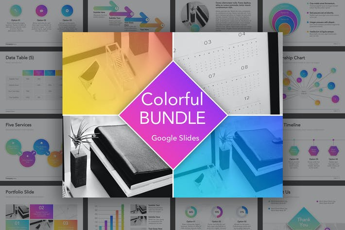 Thumbnail for Colorful Bundle Google Slides