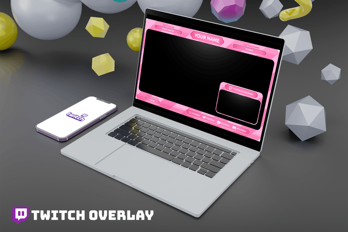 Thumbnail for Candy - Twitch Overlay Template
