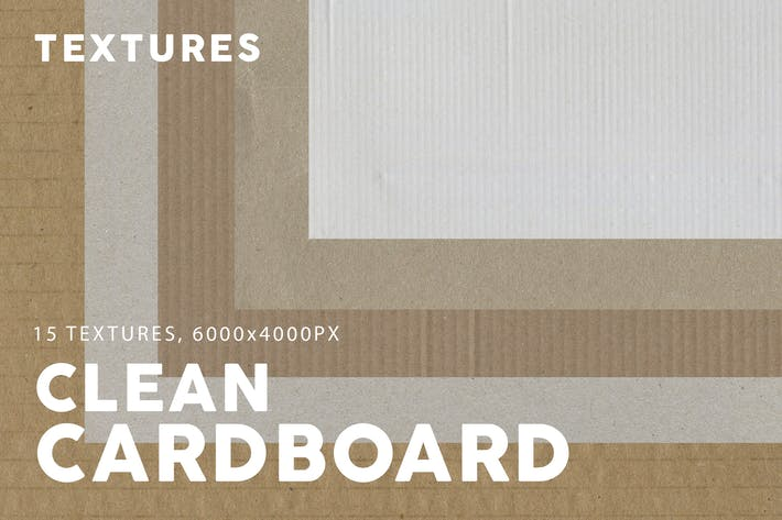 Thumbnail for 15 Clean Cardboard Textures