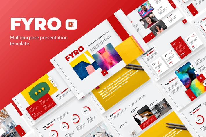 Thumbnail for Fyro - Business Presentation Template