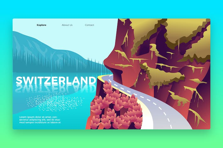Thumbnail for Switzerland- Banner & Landing Page