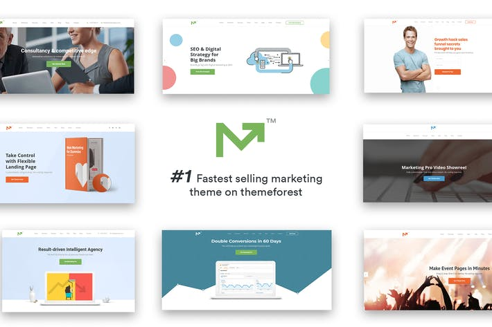 Thumbnail for Marketing Pro – SEO, Landing, Marketing Theme