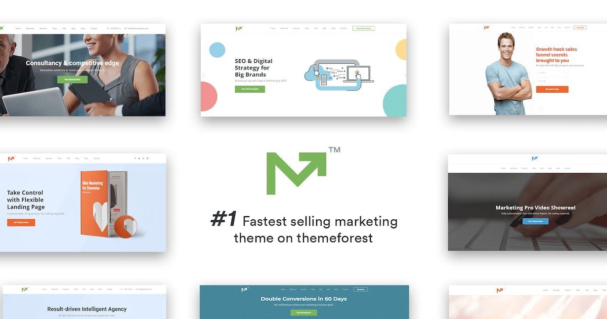 Download Marketing Pro – SEO, Landing, Marketing Theme by theme_bubble