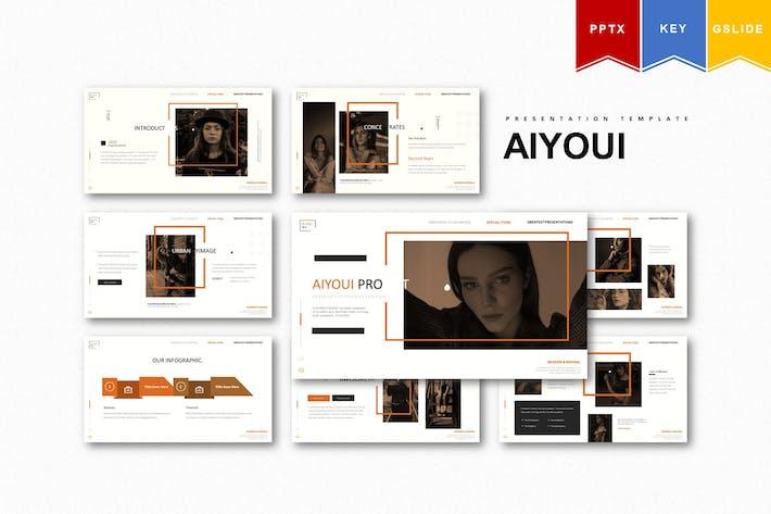 Aiyoui   Powerpoint, Keynote, Google Slides