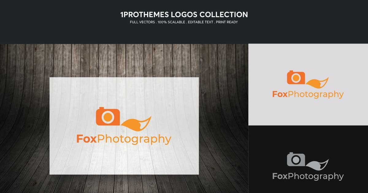 Download Fox Photograhy Logo Template by 1protheme