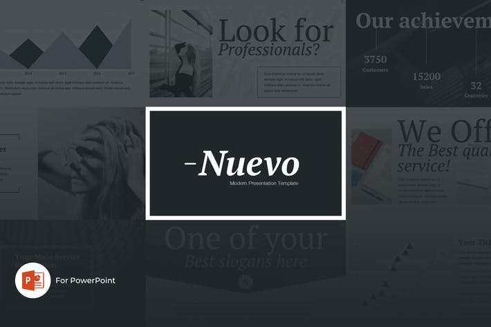 Thumbnail for Nuevo PowerPoint Presentation Template