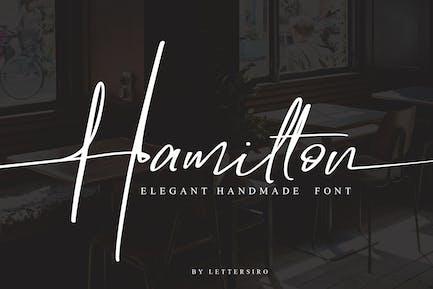 Hamilton - Elegante firma