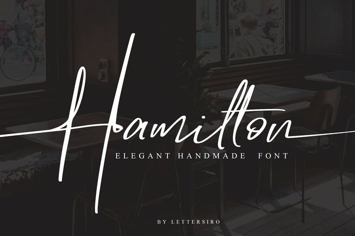 Thumbnail for Hamilton - Elegant Signature