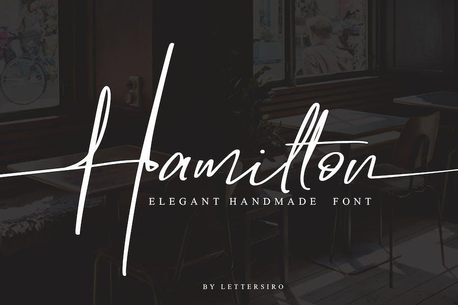 Hamilton - Elegant Signature