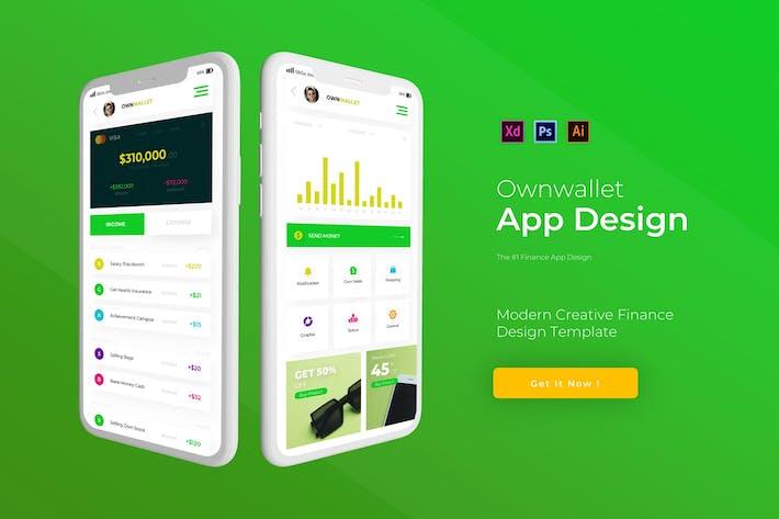 Thumbnail for OwnWallet | App Template