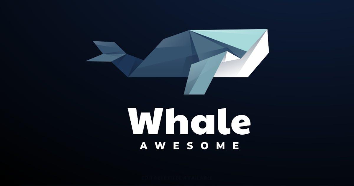 Download Whale Low Poly Logo by artnivora_std