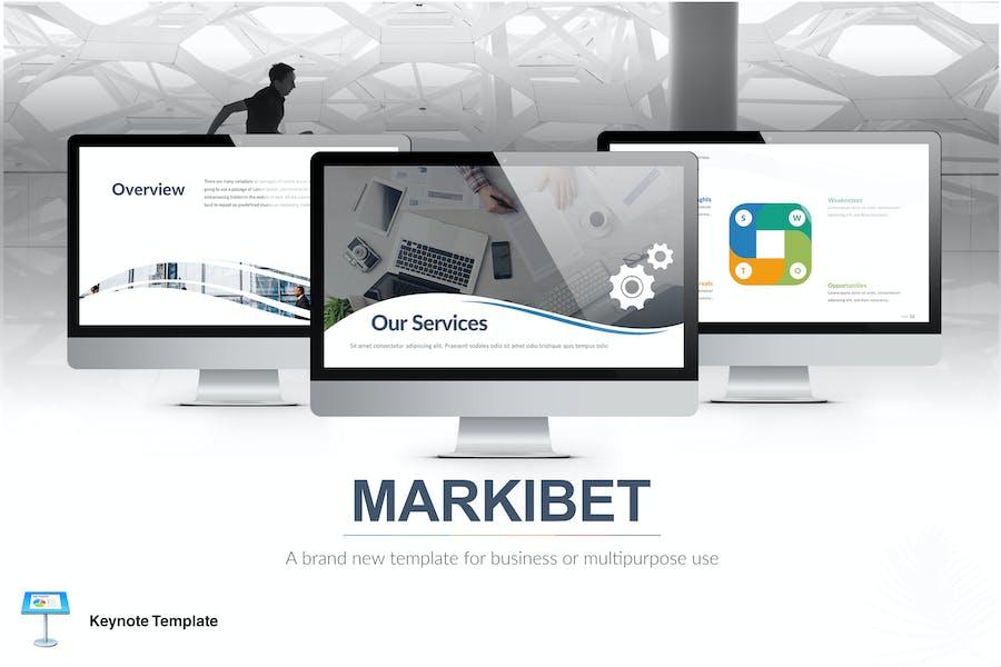 Markibet - Keynote Template