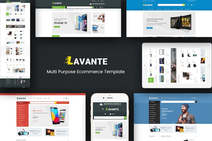 Thumbnail for Lavante - Responsive Magento Theme