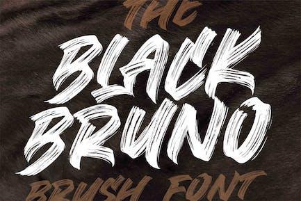 Black Bruno - Brush Font