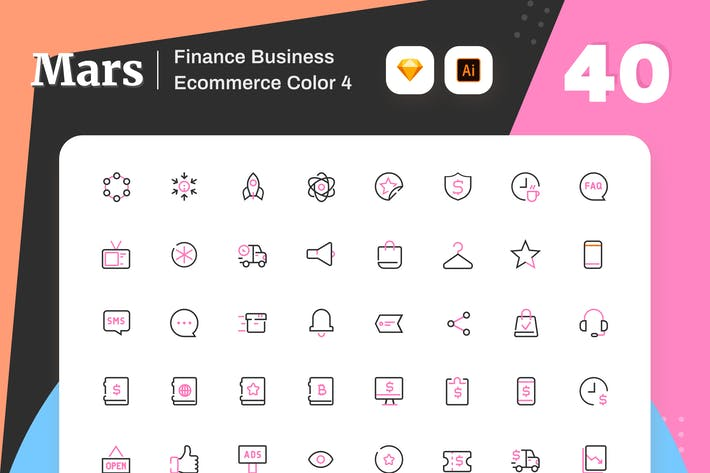 Thumbnail for Mars - Finance Business Ecommerce Color 4