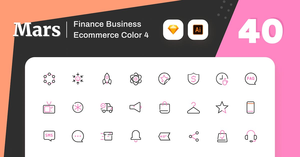 Download Mars - Finance Business Ecommerce Color 4 by sudutlancip