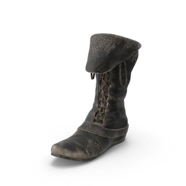Thumbnail for Leather Boot Left