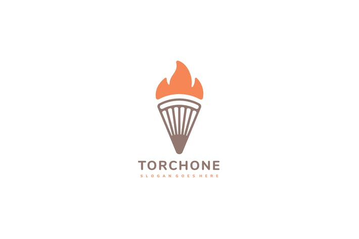 Thumbnail for Torch Fire Logo