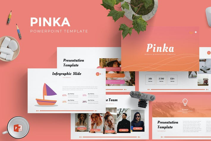 Cover Image For Pinka - Powerpoint Template