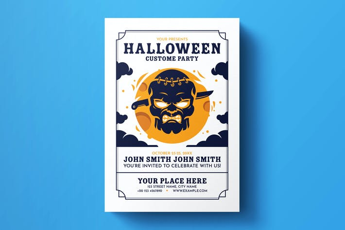 Thumbnail for Halloween Flyer Template