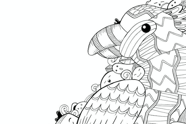 Thumbnail for Beo Bird Doodle