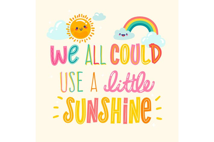 Thumbnail for We All Could Use A Little Sunshine