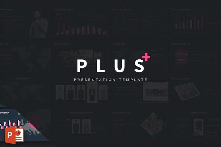 Thumbnail for PLUS - Шаблон презентации Powerpoint