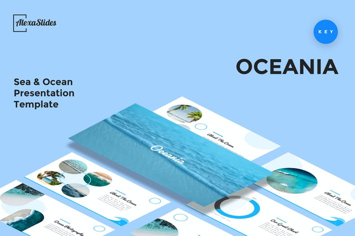 Thumbnail for Oceania - Sea & Ocean Keynote Template
