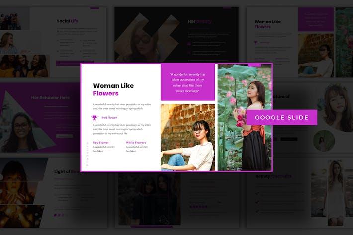 Thumbnail for Feminime - Google Slide Template