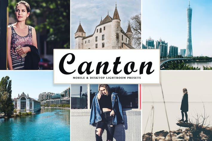 Thumbnail for Canton Mobile & Desktop Lightroom Presets