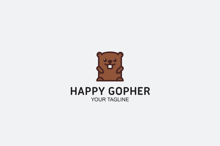 Thumbnail for Happy Gopher Logo