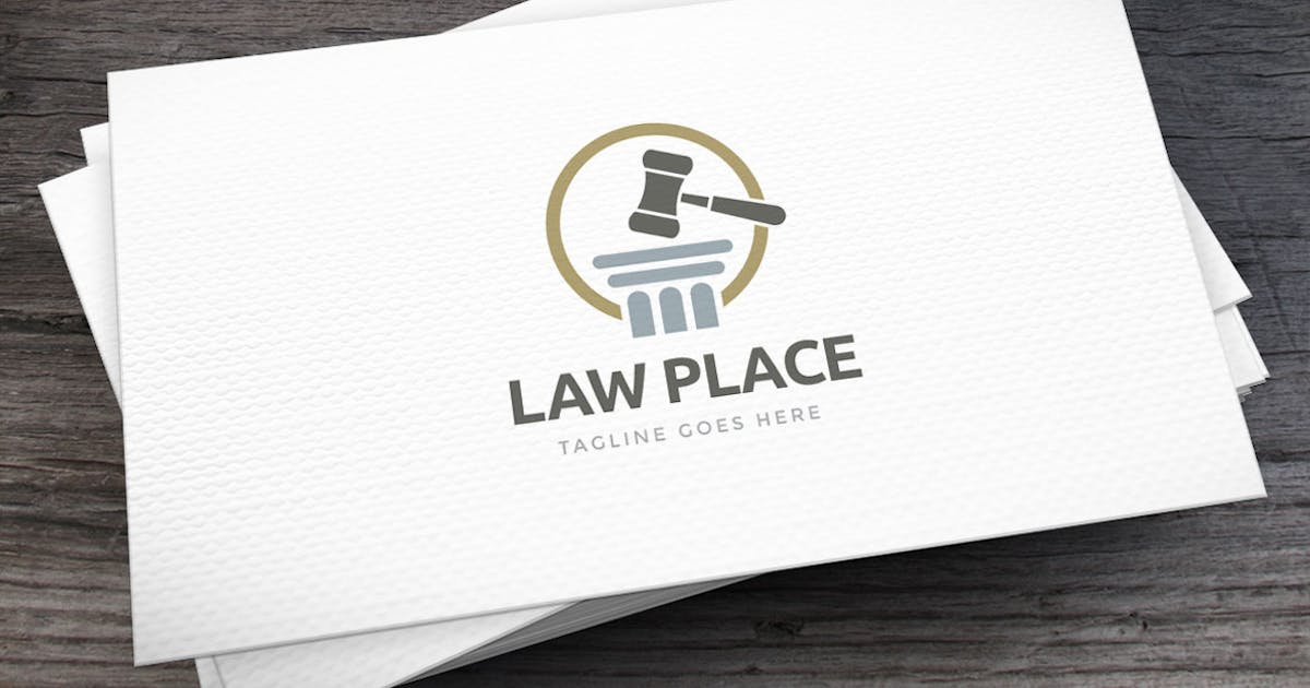 Download Law Place Logo Template by empativo