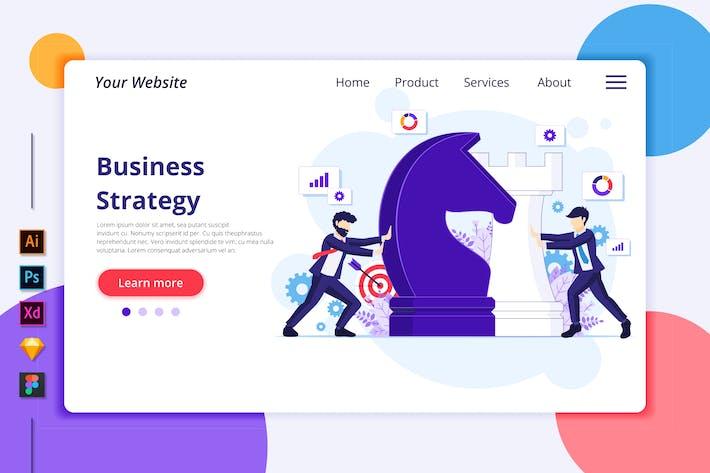Thumbnail for Agnytemp - Business strategy Illustration v1