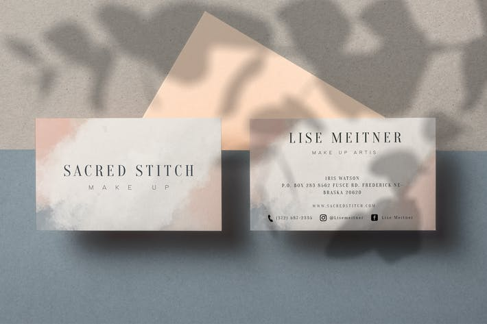 Thumbnail for Secred Stitch Business Card