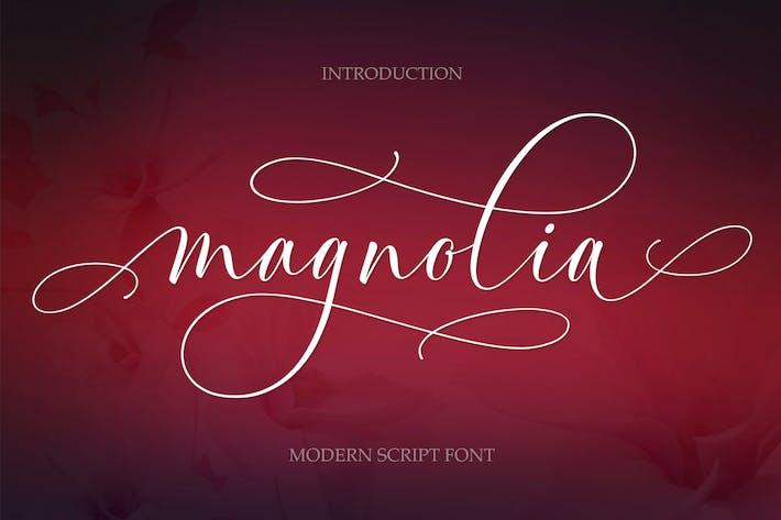 Thumbnail for Magnolia Script moderno