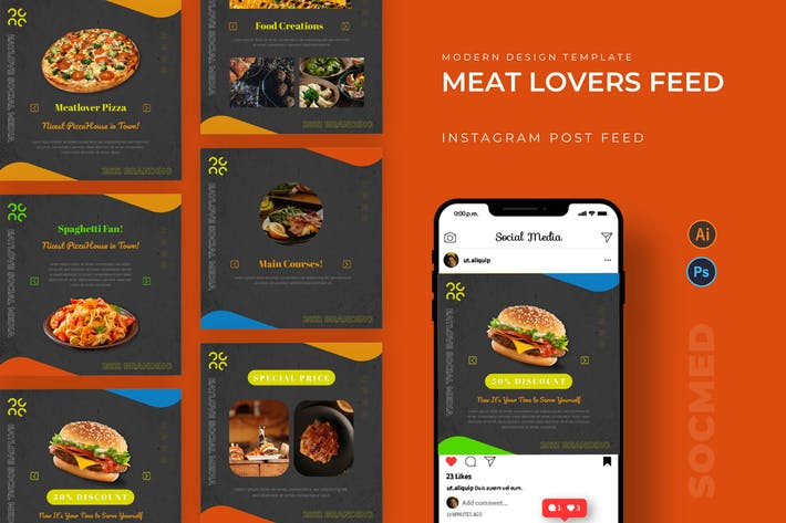 Meat Lovers Socmed Post