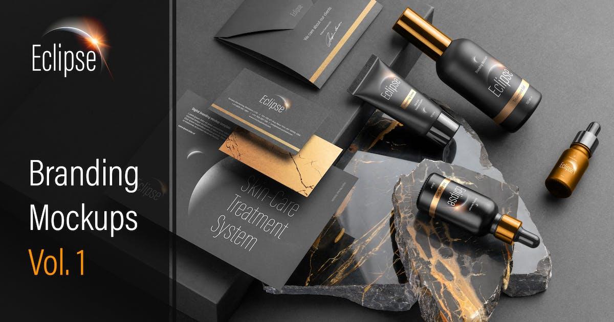 Download Eclipse – Cosmetics Branding Mockups Vol. 1 by Genetic96
