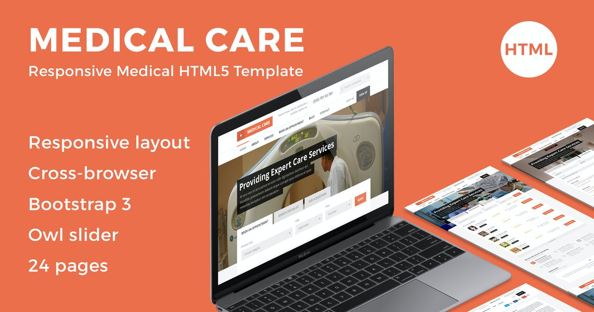 Download Medical Care - Responsive Medical HTML5 Template by bestwebsoft