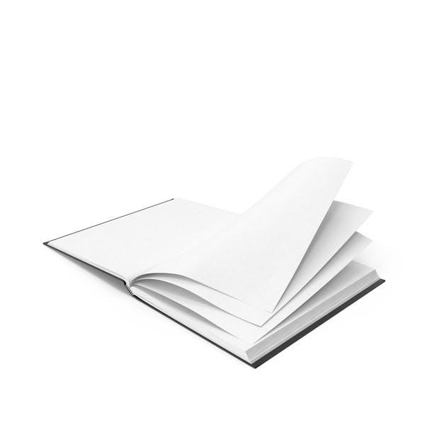 Cuaderno de bocetos encuadernado