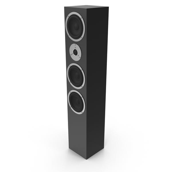 Thumbnail for Floor Audio Speaker Black
