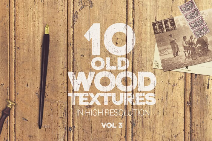 Cover Image For Old Wood Textures Vol 3 x10
