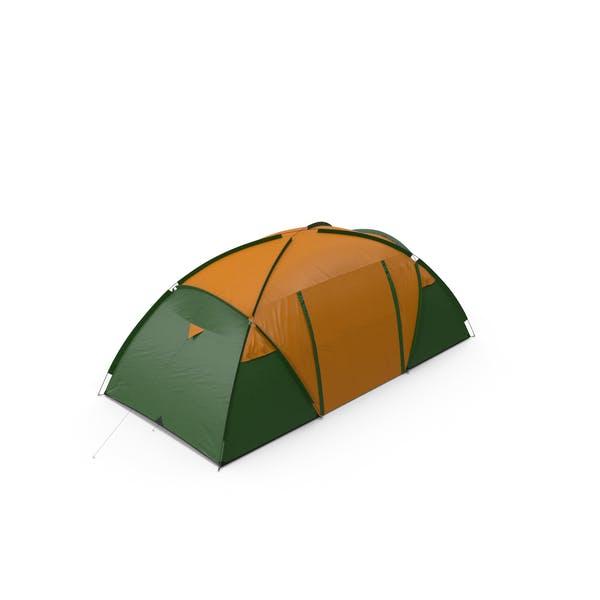 Outdoor-Camping-Zelt geschlossen