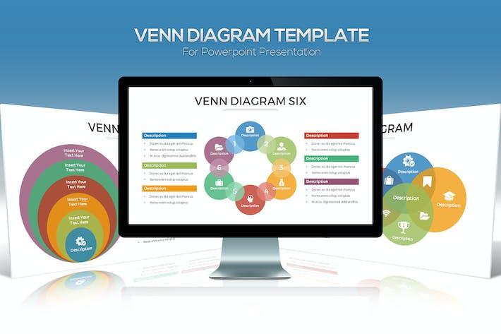 Thumbnail for Схема Венна для презентации Powerpoint
