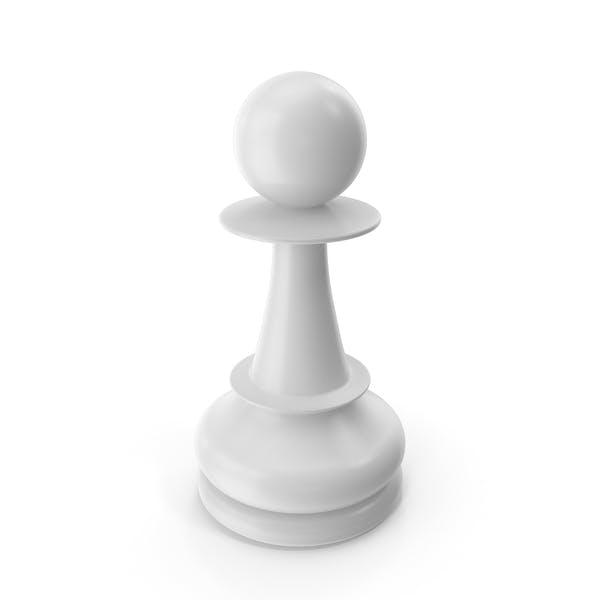 Chess Pawn White