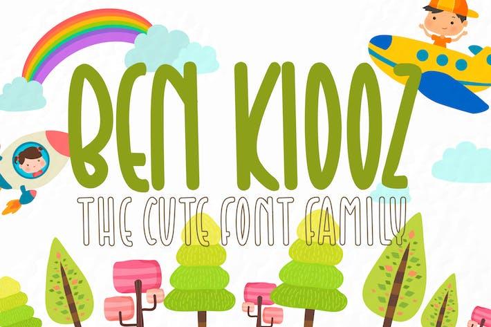 Ben Kidoz -  Cute Display Family Font