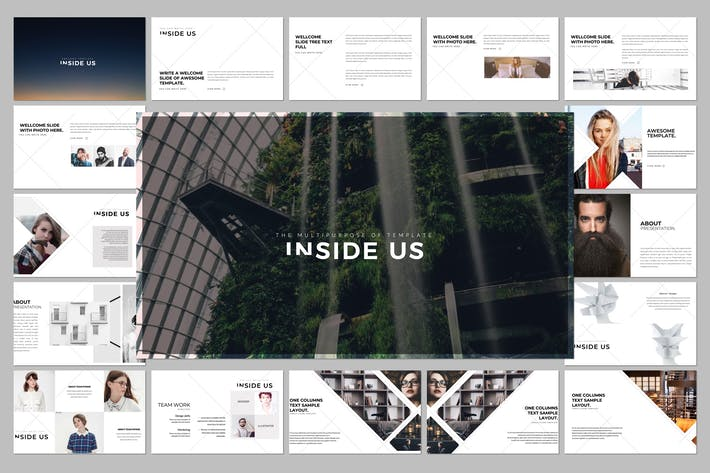 Thumbnail for INSIDE US Keynote Template