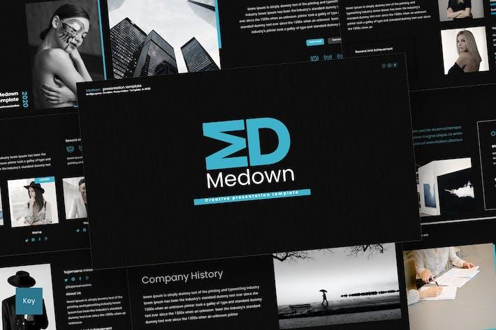 Thumbnail for Medown - Keynote Template