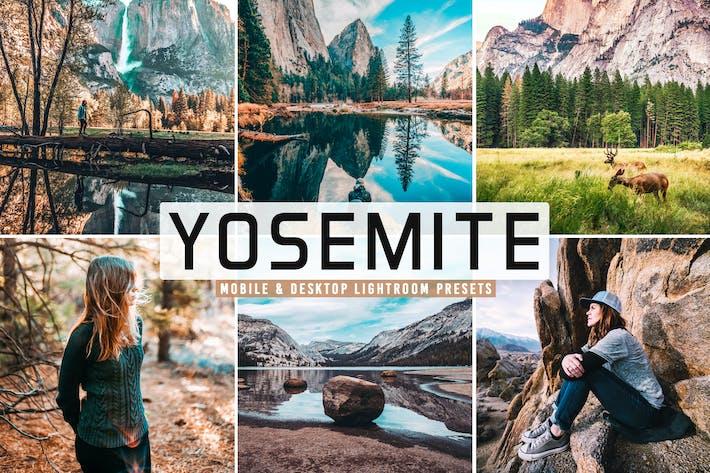Thumbnail for Yosemite Mobile & Desktop Lightroom Presets