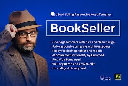 BookSeller - Отзывчивый Шаблон для продажи Электронная книга